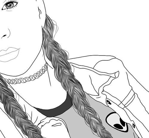 Pin By Catalina On Aliens Tumblr Outline Tumblr Drawings Outline Drawings