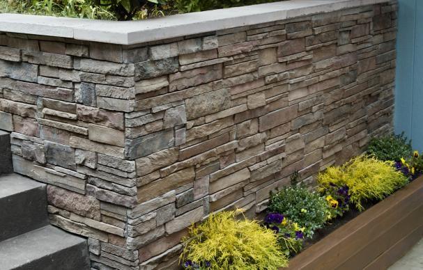 How To Clad A Wall In Stone Steinfassade Steinverkleidung Bausteine