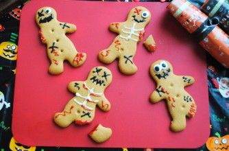 Easy Peasy Ginger bread zombies :-)