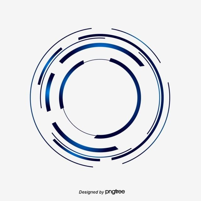 Science And Technology Abstract Blue Fantasy Glow Circle Science And Technology Abstract Blue Png And Vector With Transparent Background For Free Download Science And Technology Vector Technology Science
