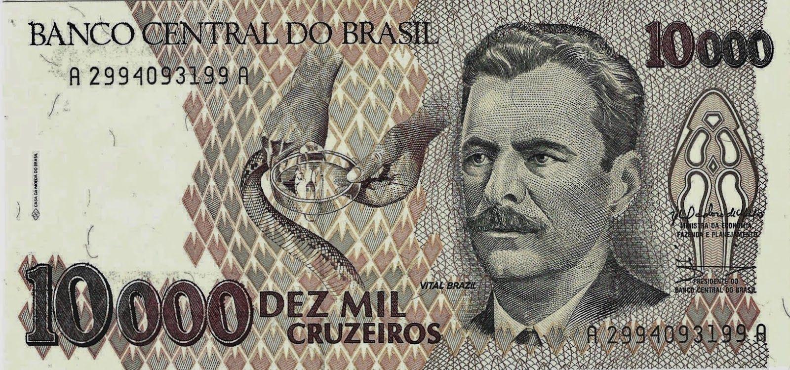 Vital Braz Cedulas Brasileiras Moedas Antigas Do Brasil Brasil