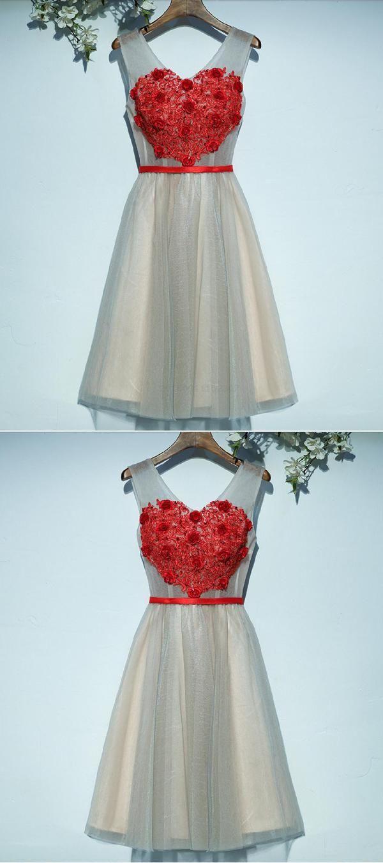 Feminine short corset lace red lace short homecoming dresses