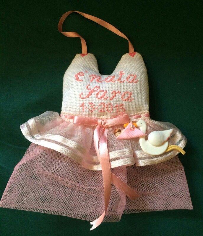 Alida - fiocco per la nascita di sara