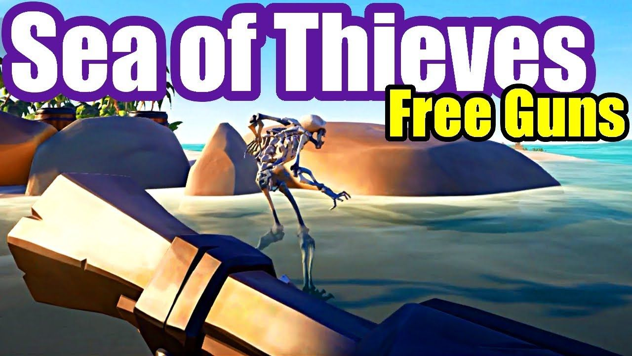 Two Chests & Free Guns Sea of Thieves Gameplay 4 Sea