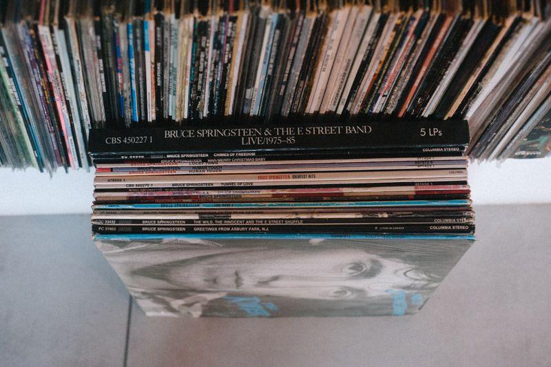 Bruce Springsteen Vinyl Collection Brucespringsteen Homedercor Living Vinyl Vinylcollectionpost Vinylclub Vinyladdict Pinvinyl Vinylrecords Records