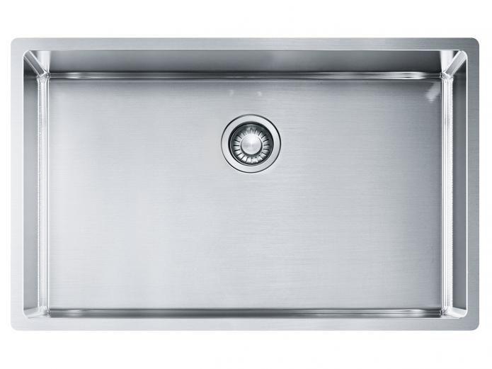 Franke Bow Single Inset Undermount Flushmount Sink Sink Single