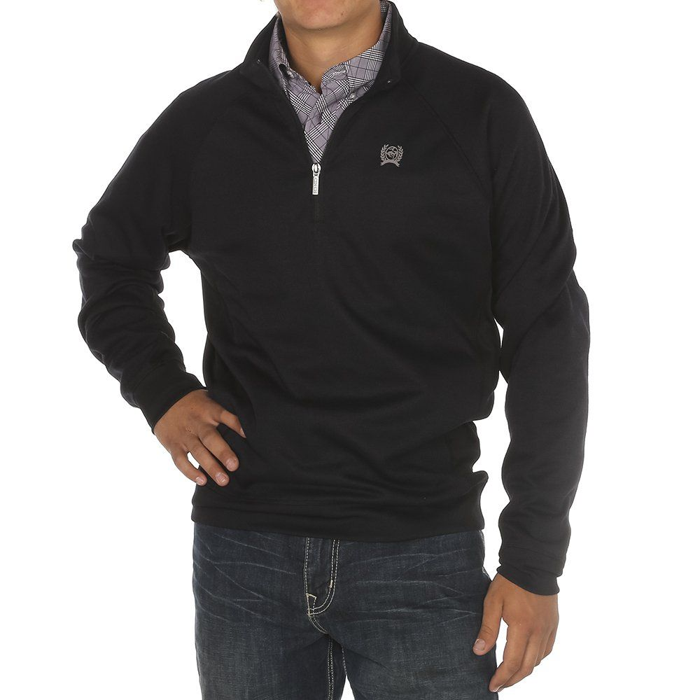 Men\u0027s Cinch Navy 1/4 Zip Pullover Sweater in 2019
