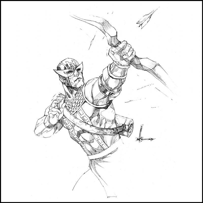 Hawkeye by Kenneth Rocafort | Comic Art | Pinterest