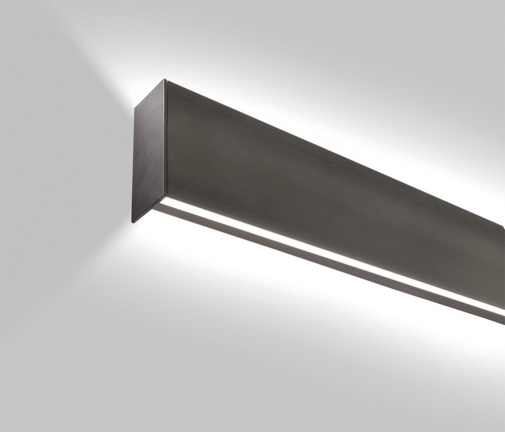 Wall Mounted Lights For Office : LP Grazer - Designed with a minimal profile for vertical or horizontal wall mount applications ...