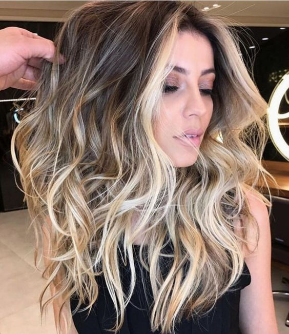 Vesunny Balayage Tape In Hair Extensions Color 2 Darkest Brown
