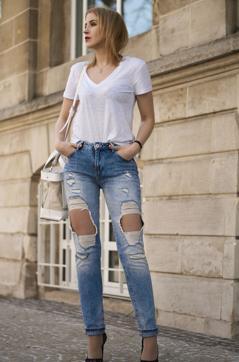 10 Best images about White   Denim on Pinterest | Striped shirts ...