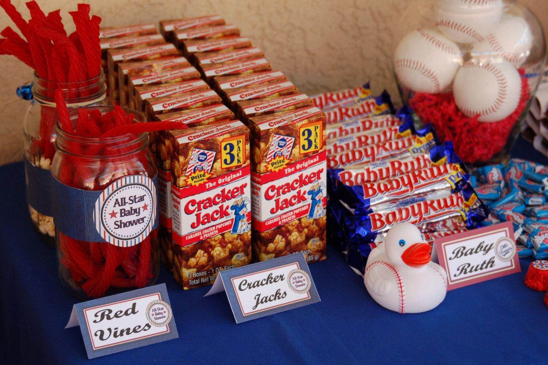Baseball Baby Shower Printable All Star Baseball Baby Shower