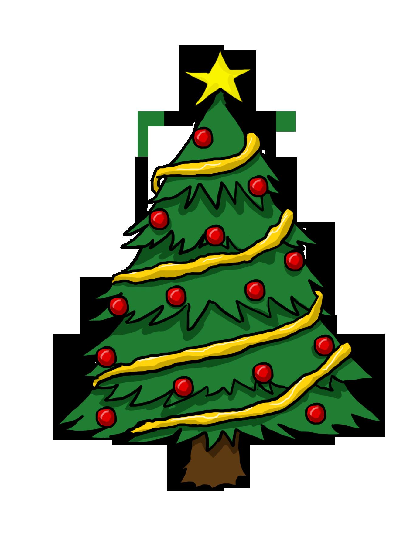 Christmas Tree Clipart Free : christmas, clipart, Cliparts, Christmas, Drawing,, Clipart,, Drawing