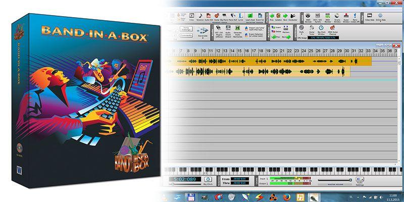 دانلود نرمافزار آهنگسازی و بانک کامل Band in a Box with