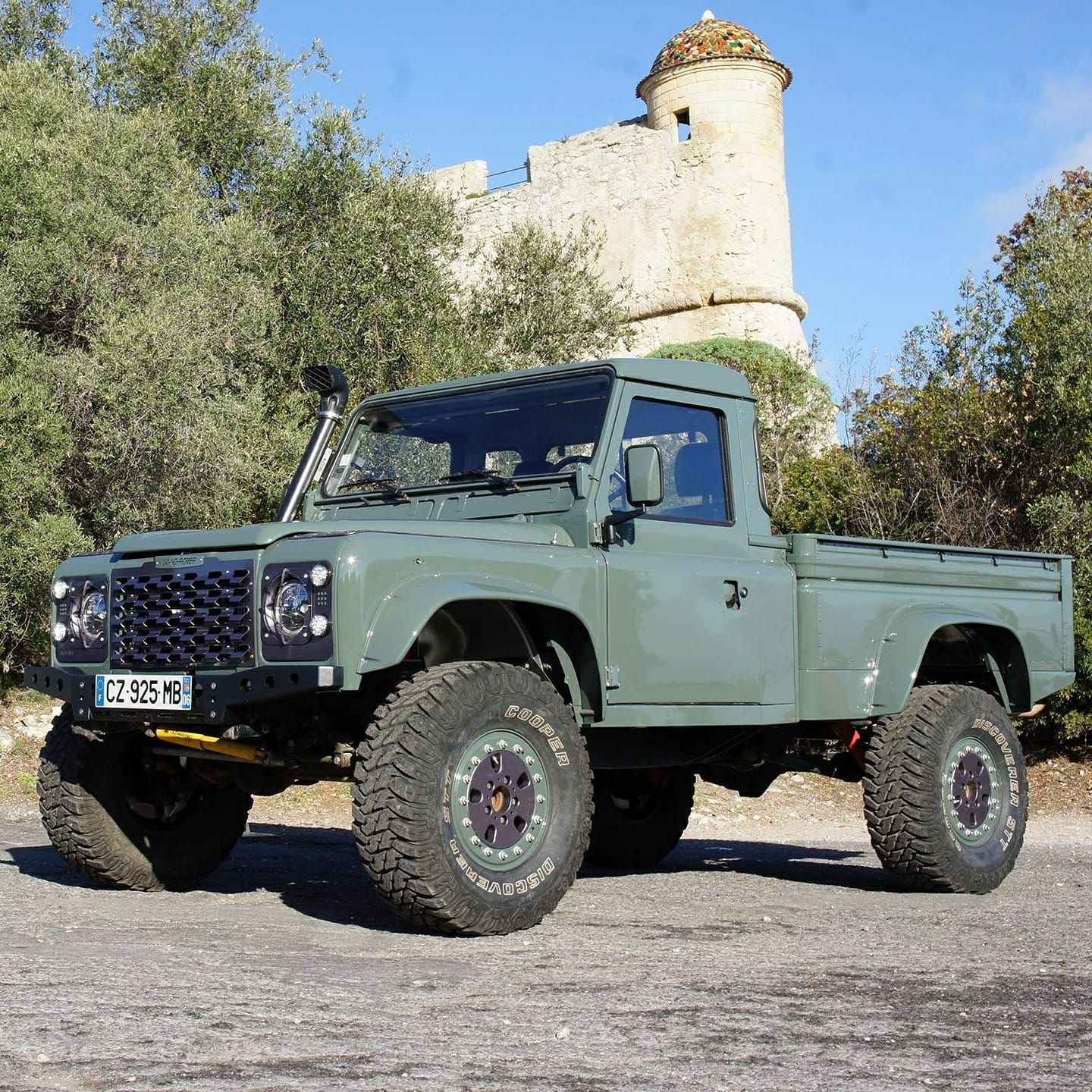Hi Capacity 110 What A Work Horse Land Rover Defender Land