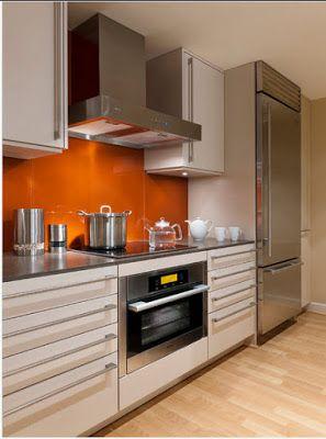 Diseño de cocina pequeña con ideas y fotos | Mi Cocina | Pinterest ...