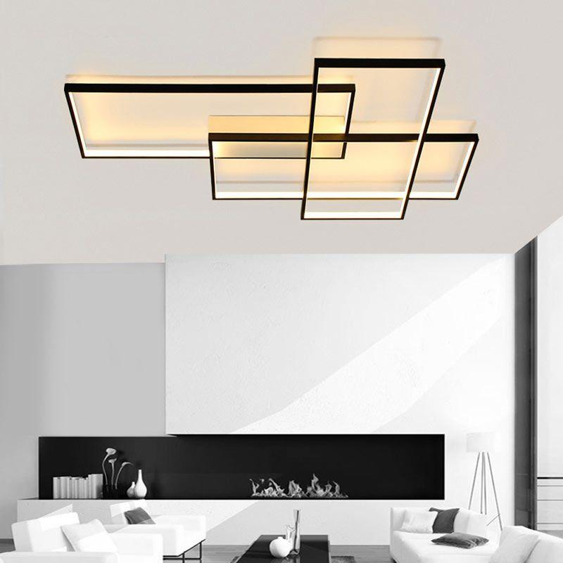 Moderne led Deckenleuchte Wandleuchte Geometrisches Design