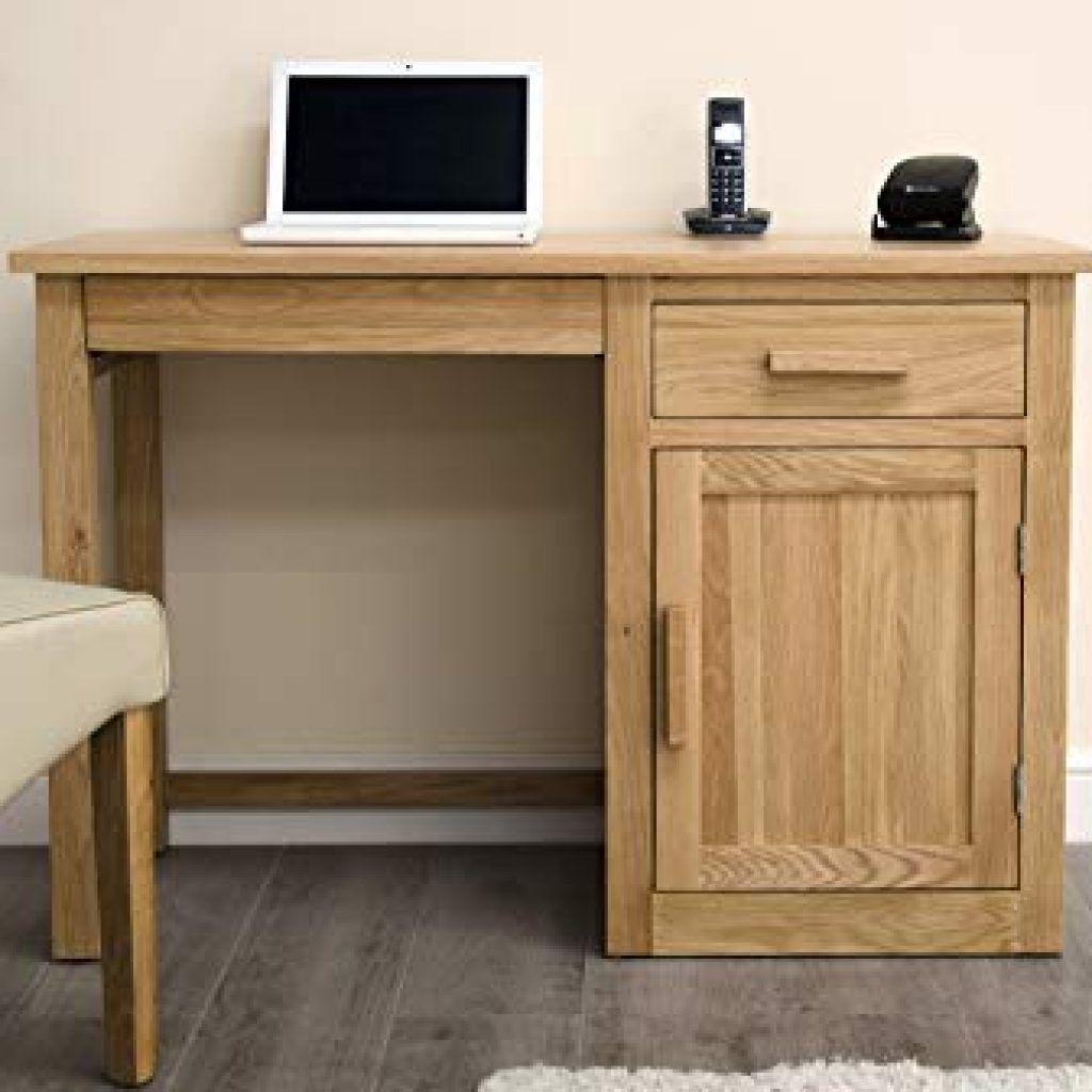 Oak Computer Table Arden Solid Oak Furniture Small Computer Desk Amazon Co Uk Alto Natural Solid O Small Computer Desk Solid Oak Furniture Small Office Chair