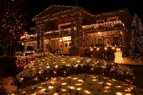 MERRY CHRISTMAS! Amazing Christmas Houses/Lights Pinterest
