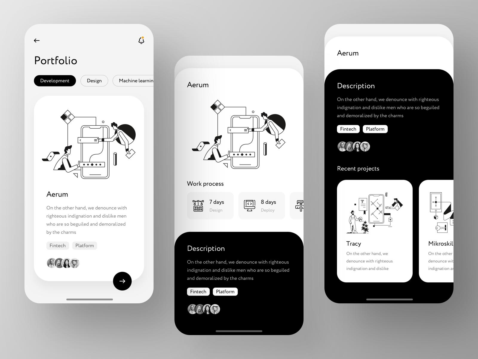 Exyte Mobile App Case Study in 2020 Mobile app, User