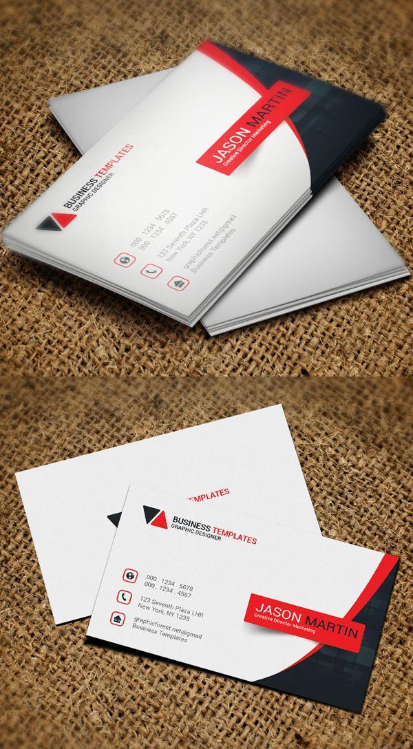 Premium business card template designart pinterest carto premium business card template reheart Gallery