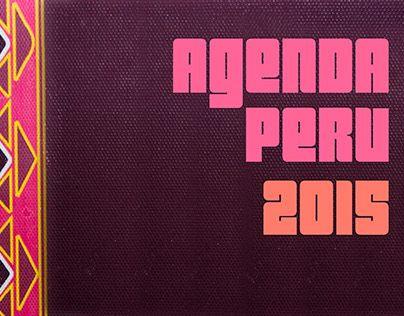 """Check out new work on my @Behance portfolio: """"Agenda con temática de fiestas en el Perú"""" http://on.be.net/1NRPMNa"""