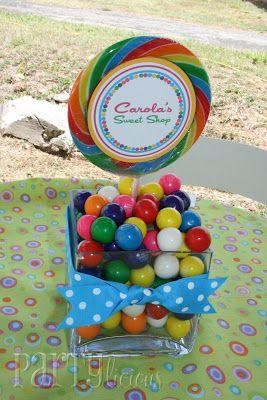 Partylicious: Birthday: {Carola's Sweet Shop}