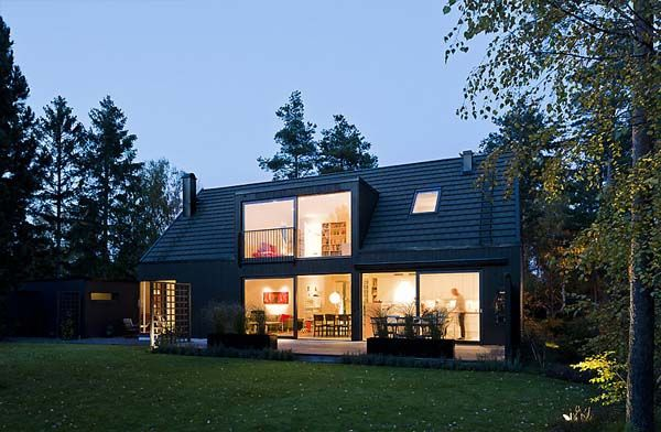 Swedish Combination Of Traditional Elements And Modern Design Lima House Architecture House House Styles Architecture