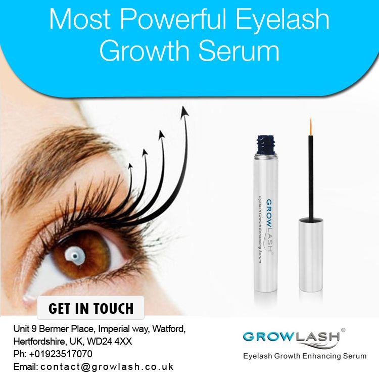Most Powerful Eyelash Growth Serum. Visit http://www ...