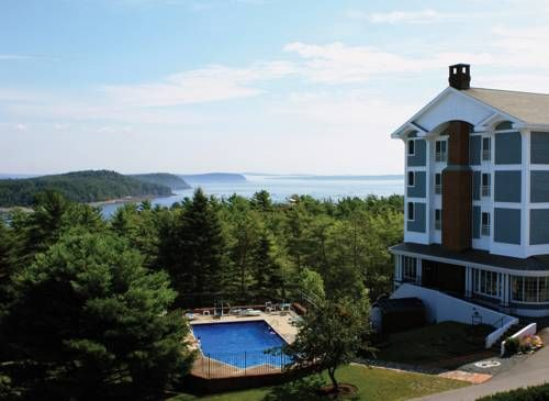 Bluenose Inn - Bar Harbor Hotel Bar Harbor (Maine) This Mount Desert Island property, offering panoramic views of Frenchman Bay, is within a 10-minute drive of Acadia National Park. It features a spa, heated indoor and outdoor pools and free Wi-Fi.