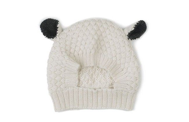 We love this adorable handknit sheep hat made by fair trade artisans for  Oeuf. Sweet gift! bc85829b08b
