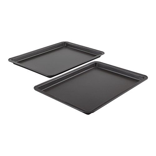 Baker S Secret Essentials 2 Piece Small Cookie Sheet Value Pack Baking Necessities Bakeware Accessories Cookie Sheet