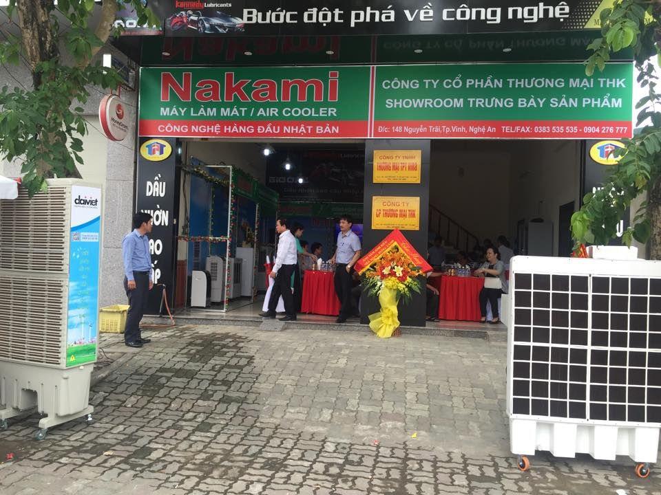 *** TƯNG BỪNG KHAI TRƯƠNG *** Nhà phân phối Máy làm mát Nakami TP Vinh - Nghệ An