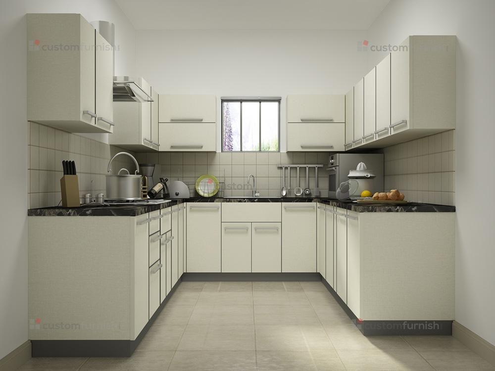 U Shaped Modular Kitchen Kitchen Layout Kitchen Designs Layout