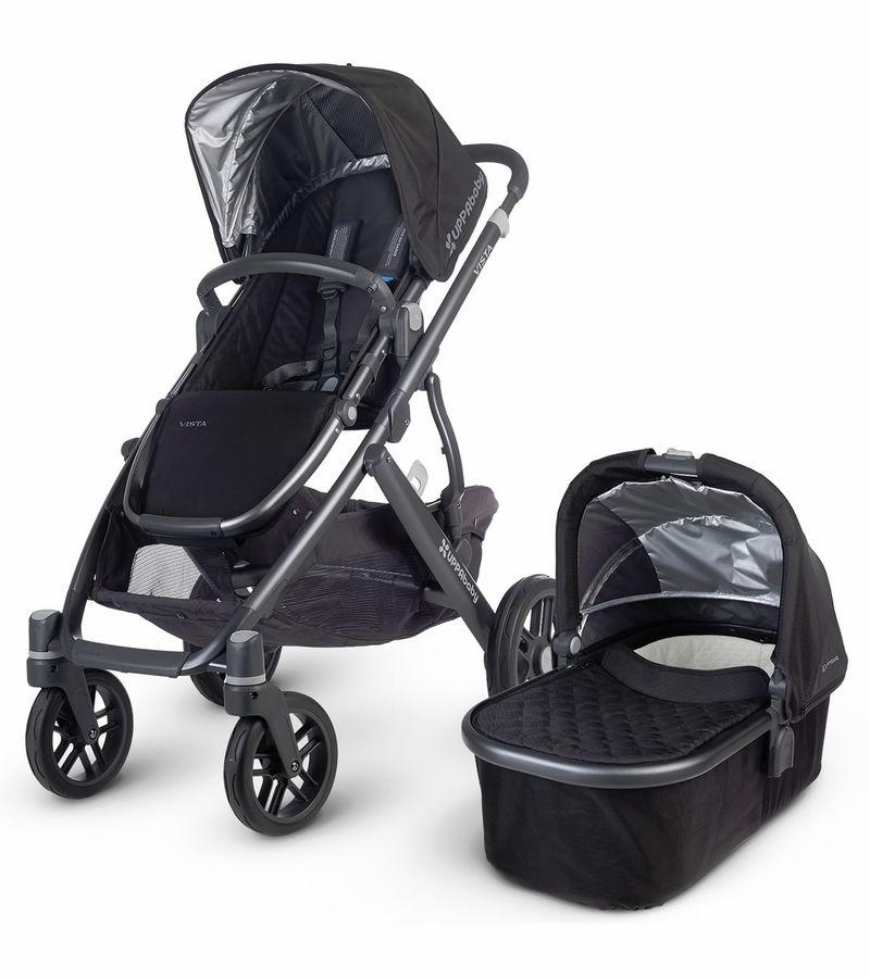 Uppababy VISTA 2015 Stroller Jake (Black/Carbon