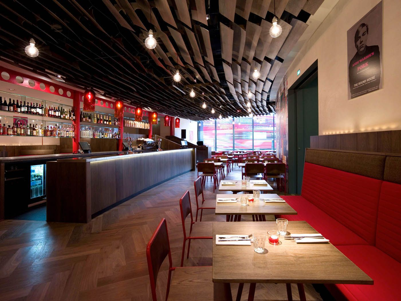 Made in Camden Bar and dining room is a new restaurant