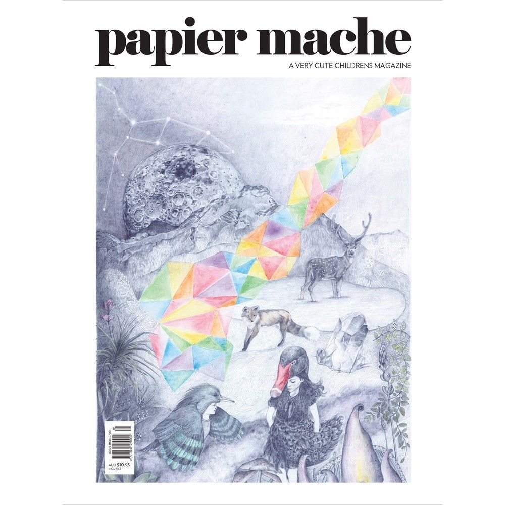 PAPIER MACHE MAGAZINE ♥ PRINT ISSUE NO. 5