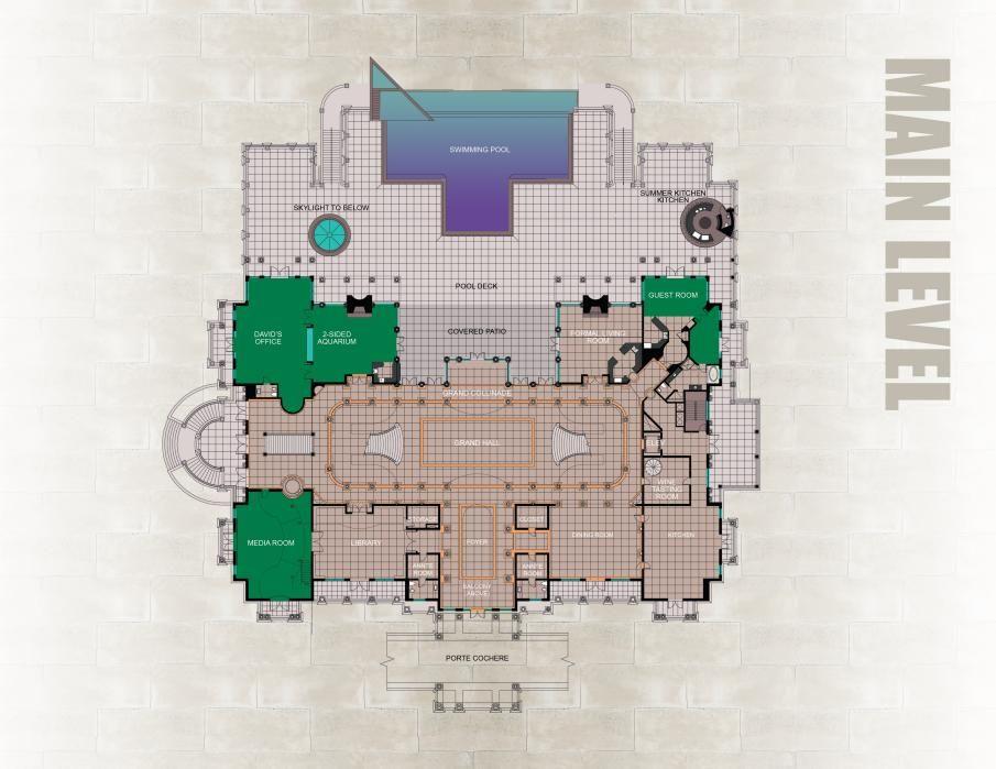 Realestate Yahoo News Latest News Headlines Floor Plans Versailles Mansion Floor Plan