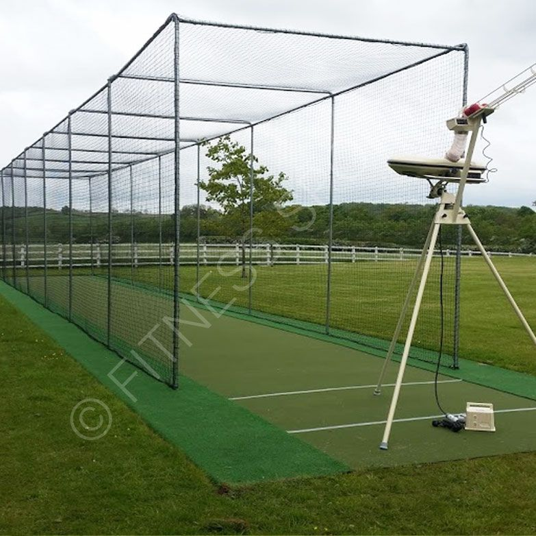 Merveilleux Full Weight Steel Ground Socketed Cricket Net Cage. Robust And Suitable For  Professional Use For