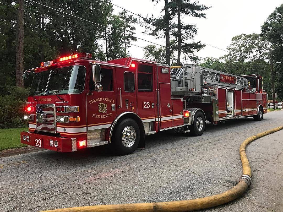 Featured Post Averyfirepics Dekalb County Truck 23 Tag A Friend Http Ift Tt 2aftxs9 Facebook Chiefmil Fire Trucks Fire Apparatus Fire Department
