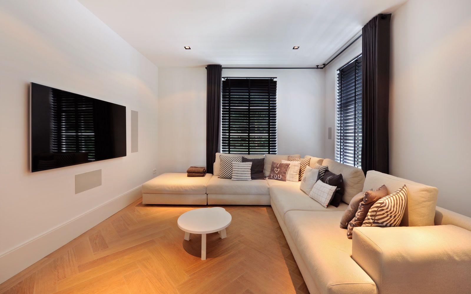 Lounge, woonkamer, hoekbank, televisie, Noort Interieur, Sonos ...