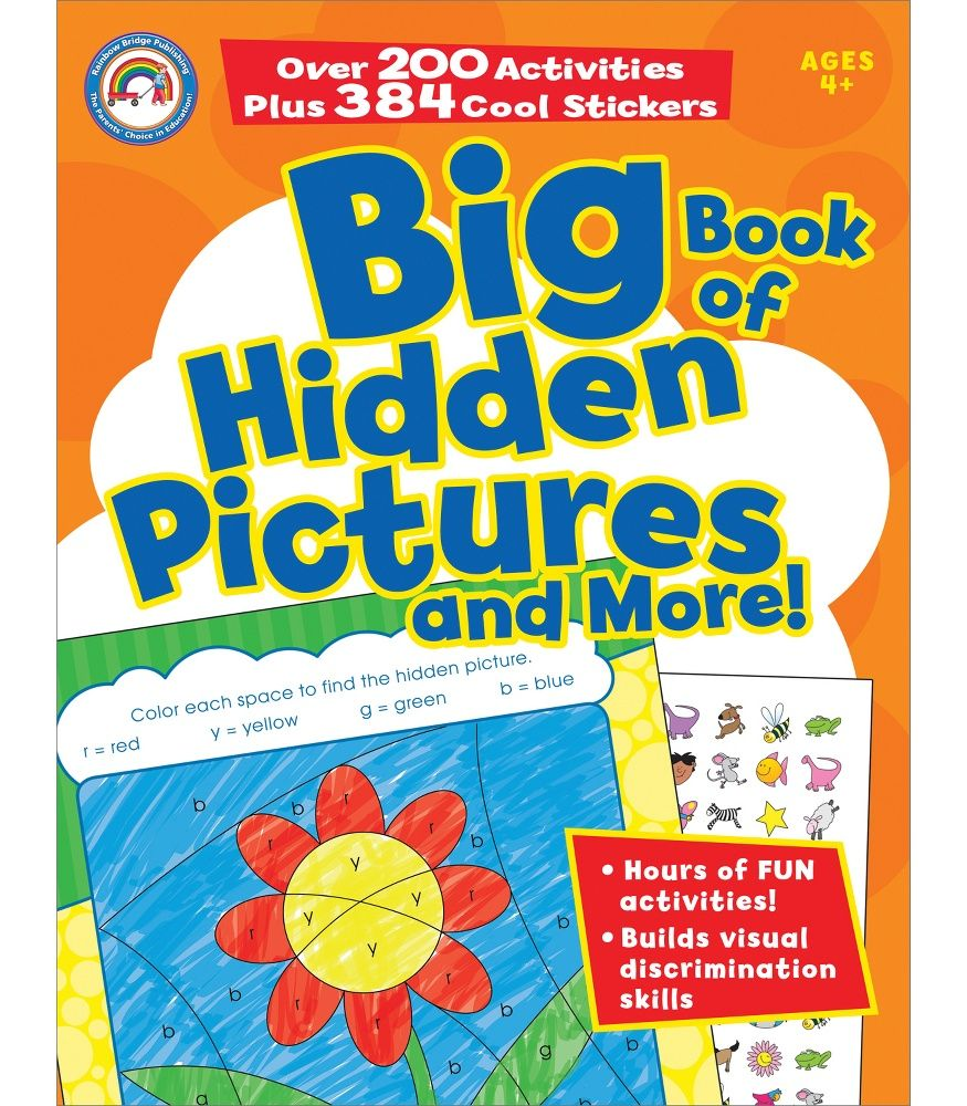 Each book in the Big Book series includes more than 200 fun and ...