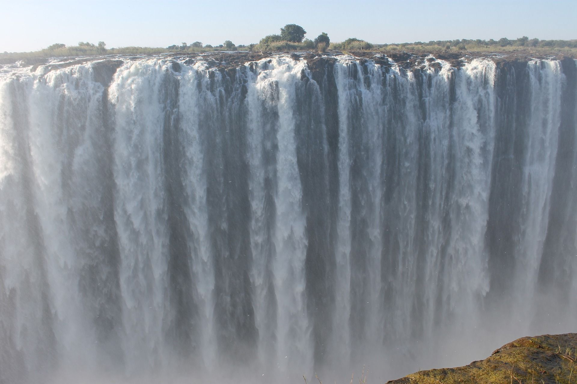 Victoria Falls Zimbabwe Zambia Even Though It Is Not The