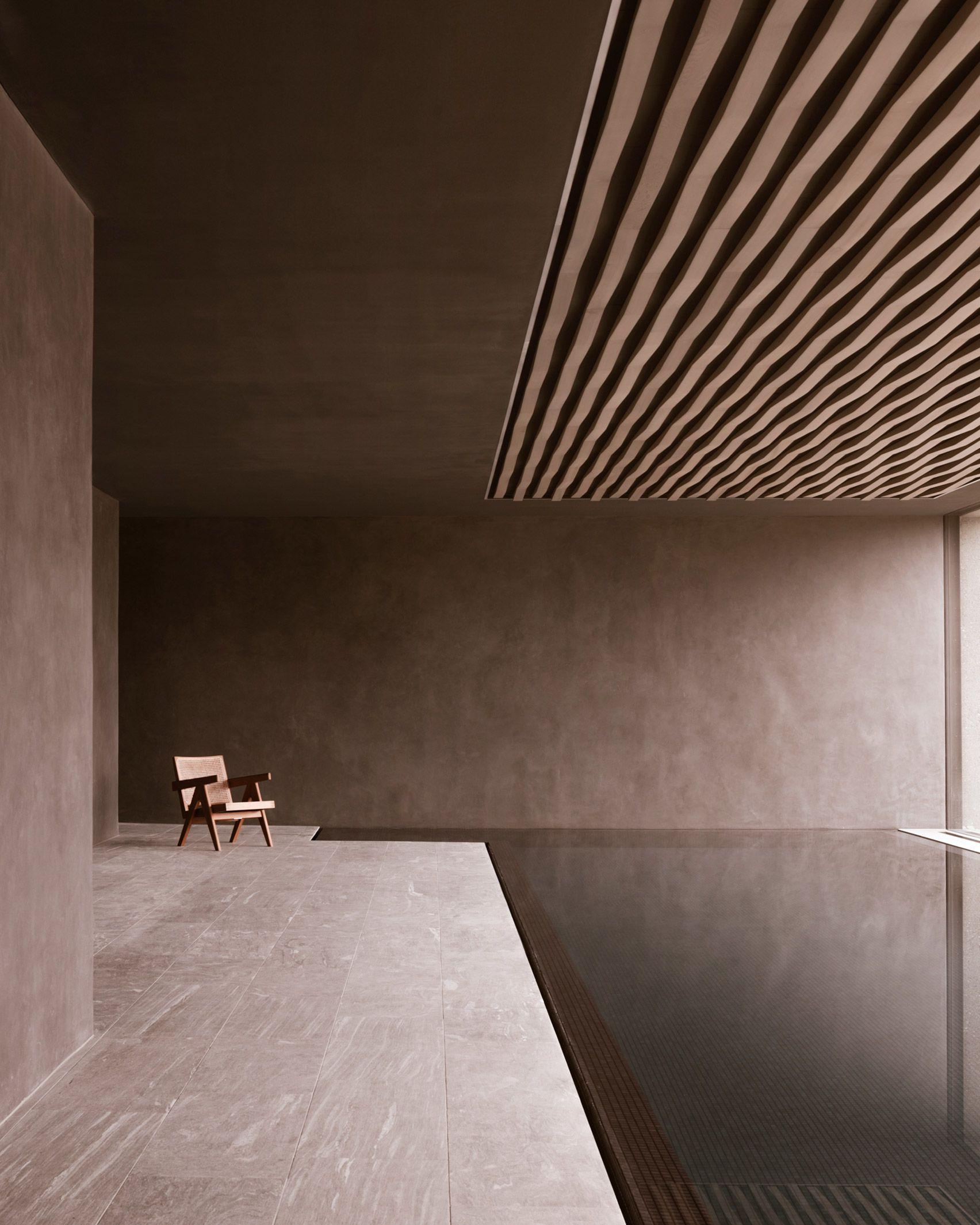 Think Architecture creates minimal hilltop house in Switzerland