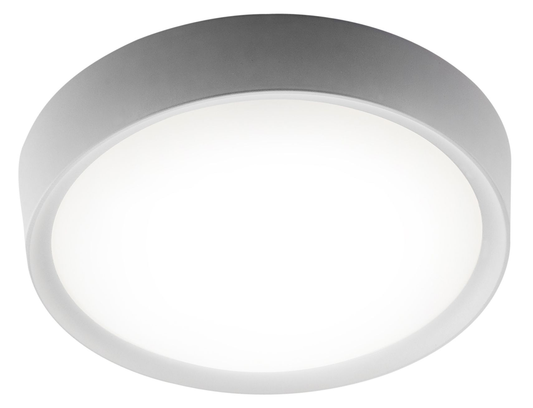 reputable site ac12f ecfbc Ruth White Frosted Bathroom Flush Light | Bathroom | Flush ...