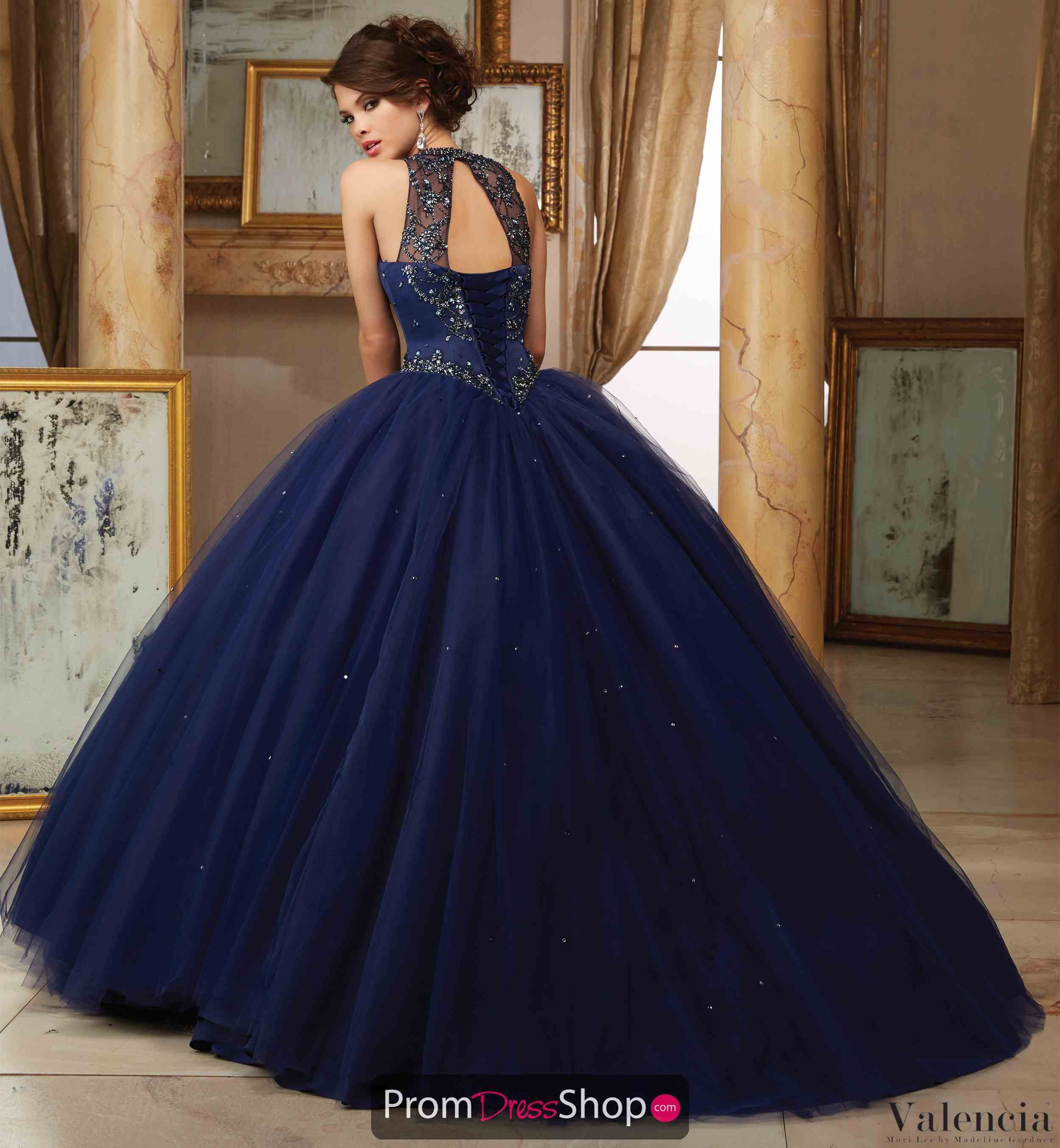 5801e156389 Vizcaya Quinceanera Beaded Ball Gown 60008