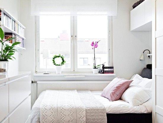 ideeen-kleine-slaapkamer-inrichten.jpg (551×414) | Small rooms ...