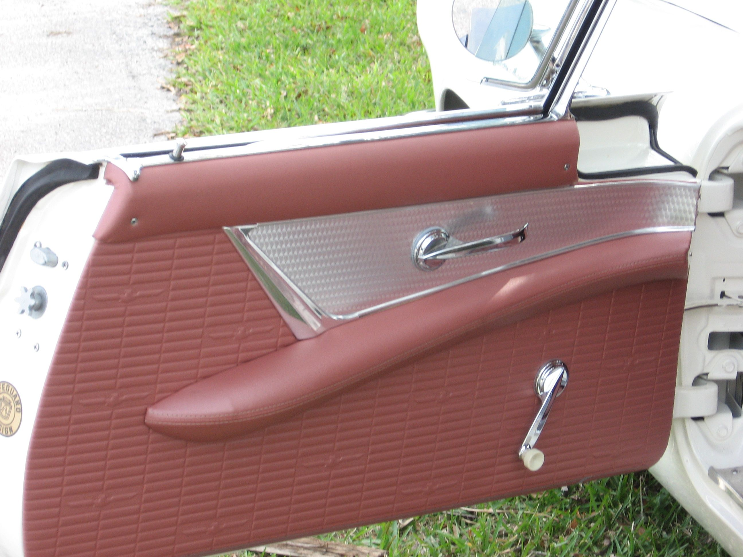 1957 Ford Thunderbird New Door Panels Ford Thunderbird Classic Cars Ford