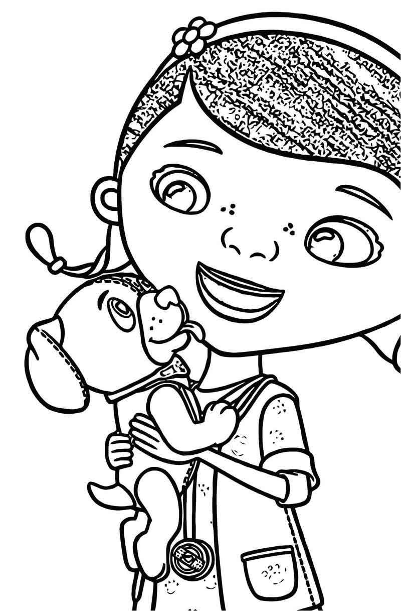 Doc Mcstuffin Eu Dms Ai Colouring 01 Coloring Page Coloring