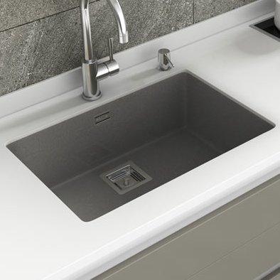 Andy 65cm X 45cm Single Bowl Undermount Kitchen Sink Sink Kitchen Sink Single Bowl Kitchen Sink